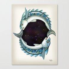 INKYFISH - Southern Hemisphere Canvas Print