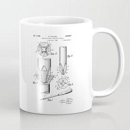 Phillips Screwdriver: Henry F. Phillips Screwdriver Patent Coffee Mug