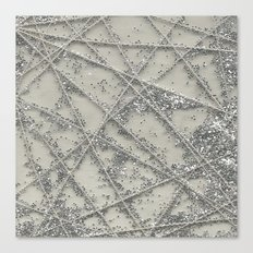 Sparkle Net Canvas Print