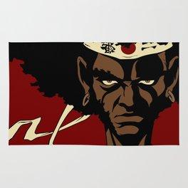 Afrosamurai Rug