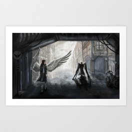 Helpless: We Used to Have Each Other Art Print