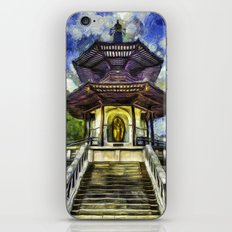 The Pagoda Vincent Van Gogh iPhone & iPod Skin