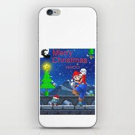 Mario Christmas #2 iPhone Skin