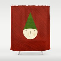 elf Shower Curtains featuring Elf by Inmyfantasia