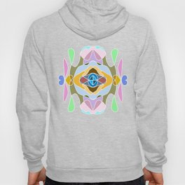 Intricate and detailed mandala with many colors Hoody