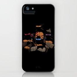 T. U. R. T. L. E. S. iPhone Case