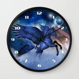 Little Pegasus Wall Clock