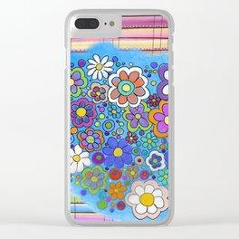 sarape y flore Clear iPhone Case
