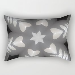 Hearts (from the arches in the Bom Jesus church complex in Old Goa) Rectangular Pillow