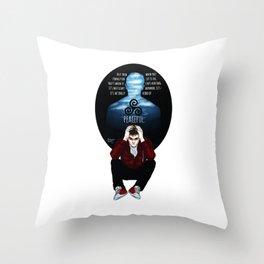 Sterek Drowning print Throw Pillow