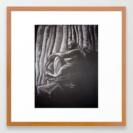 Woman 4 Framed Art Print