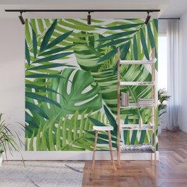 Tropical leaves III Wall Mural