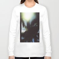 palm trees Long Sleeve T-shirts featuring Palm Trees by IanPlath
