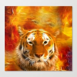 ▼▲►divine tigress◄▲▼ Canvas Print