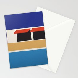 Palm Springs Pool House II Stationery Cards