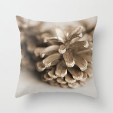 morior // No. 01 Throw Pillow