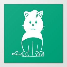 Piuley logo Canvas Print