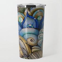 Majestic Coral Travel Mug