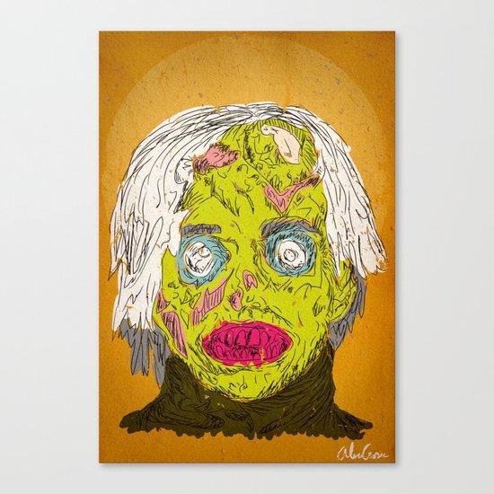 Zombie Warhol Canvas Print