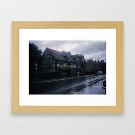 England Art Print * Vintage Photo * 1950's * Shakespeare * Home * Kodachrome * European * Color Framed Art Print