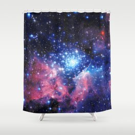 Extreme Star Cluster Shower Curtain