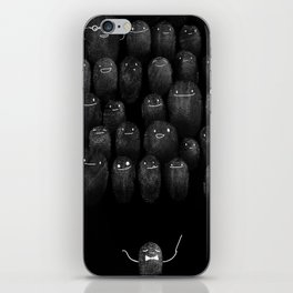 Fingerprint I iPhone Skin