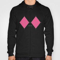 Rhombusty - Hot Pink Hoody