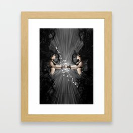 The Bellydancers Dark Framed Art Print