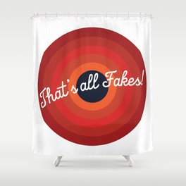 Fakes Shower Curtain