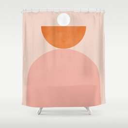 Abstraction_Balance_Minimalism_003 Shower Curtain