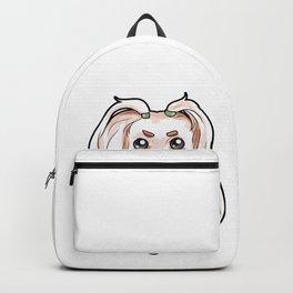 Maltese Dog Malta Lion Puppy Doggie Dog Present Backpack