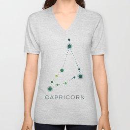 CAPRICORN STAR CONSTELLATION ZODIAC SIGN Unisex V-Neck
