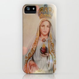 Our Lady of Fatima iPhone Case