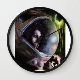alien ripley painting Wall Clock