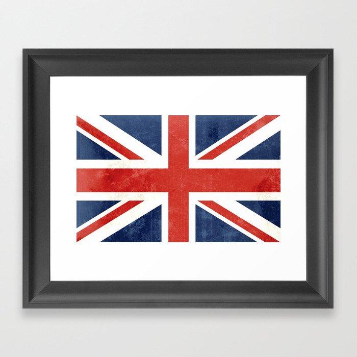 Union Jack Framed Art Print