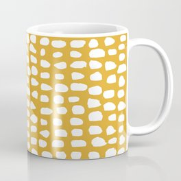 Dots / Mustard Coffee Mug