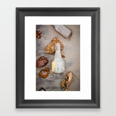 Dead Horse Bottle 4 Framed Art Print