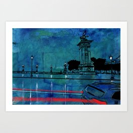 Nightscape 04 Art Print