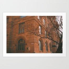 Budapest Architecture Art Print