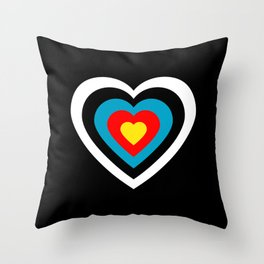 Love archery Throw Pillow