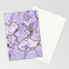 Lavender Marble Stationery Cards