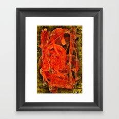 The Casso Framed Art Print