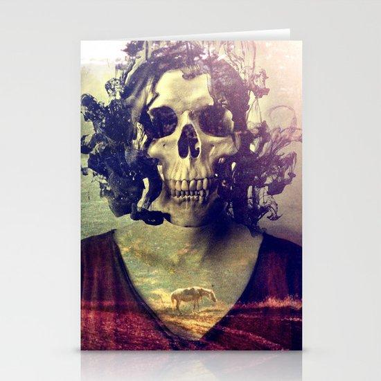 Miss Skull Stationery Cards