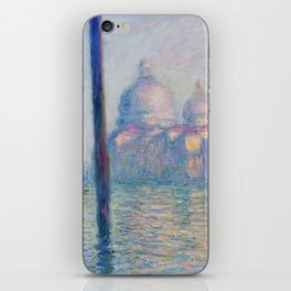 Le Grand Canal by Claude Monet iPhone Skin