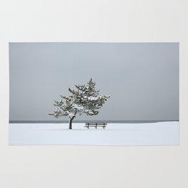 Lonesome Winter Rug