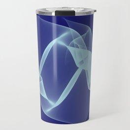 Awesomeness on Blue Travel Mug
