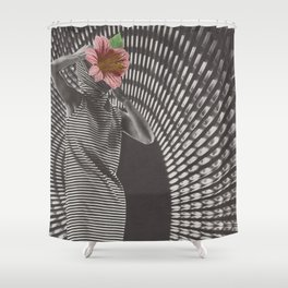 Forced Zones Shower Curtain