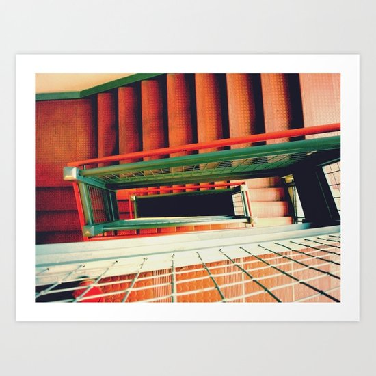 crease Art Print