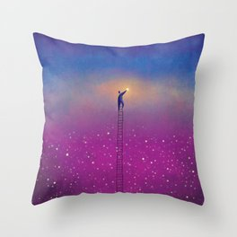 One Stars Throw Pillow