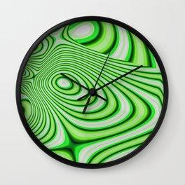 Oozing Green Irish Wall Clock